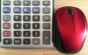 使いやすい電卓サイズ