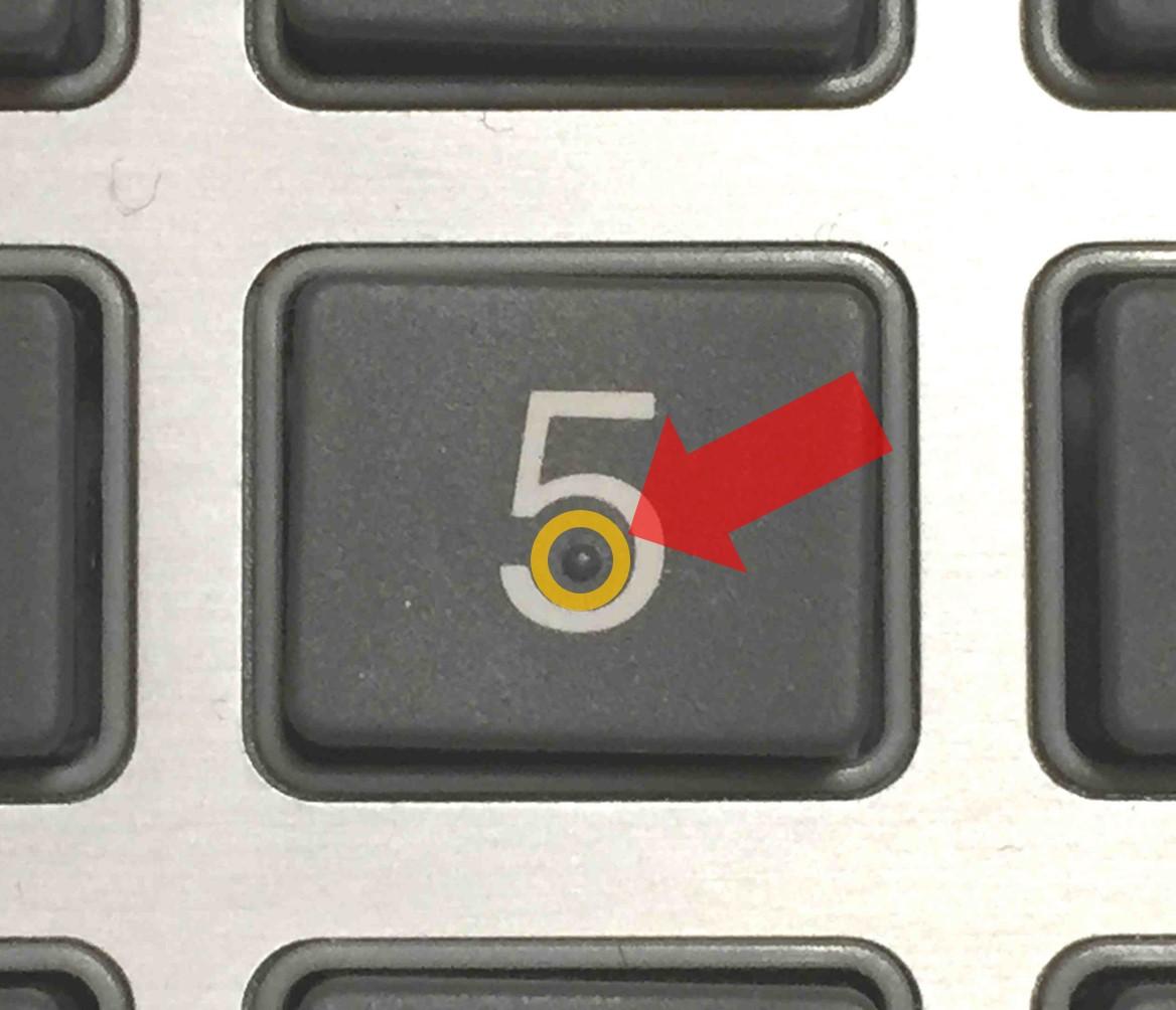 簿記電卓の使い方・基本操作