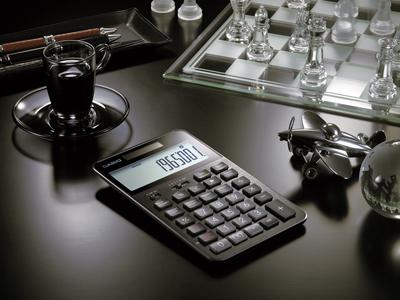 カシオ計算機電卓S100