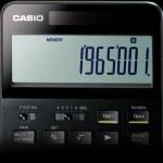 カシオ計算機がフラッグシップモデル電卓「S100」を9月30日より発売!