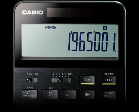 THE SPECIAL ONE - CASIO CALCULATOR S100