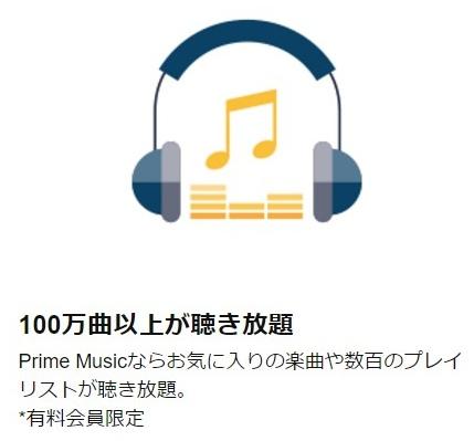 100万曲以上が聴き放題