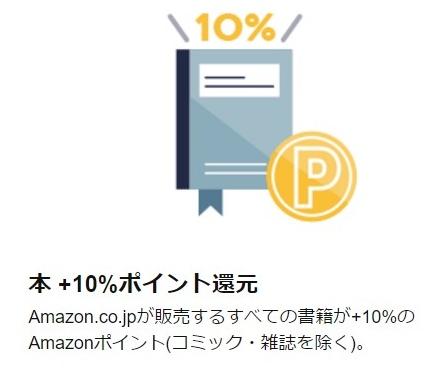 本10%ポイント還元